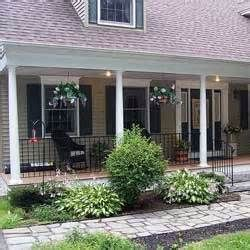 Pin By Jenny Siebert On New House Ideas Front Porch Railings Aluminum Porch Railing Front Porch Makeover