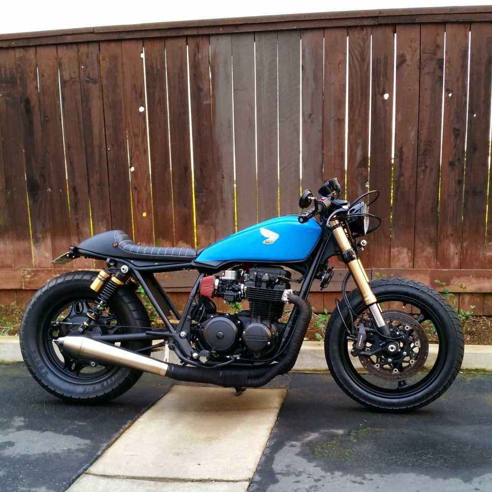 finally, first build 99% done, '82 cb650sc | motorcycles | pinterest