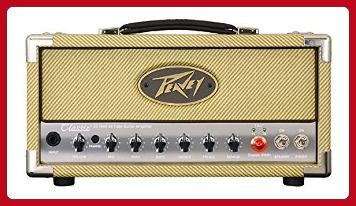 Peavey CLASSIC20MH Classic 20 Mini Head Power Amplifier - Audio gadgets (*Amazon Partner-Link)