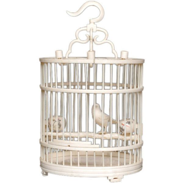 Ed Hardy San Francisco   CHINESE CARVED IVORY DIMINUTIVE BIRD CAGE... ❤  Liked
