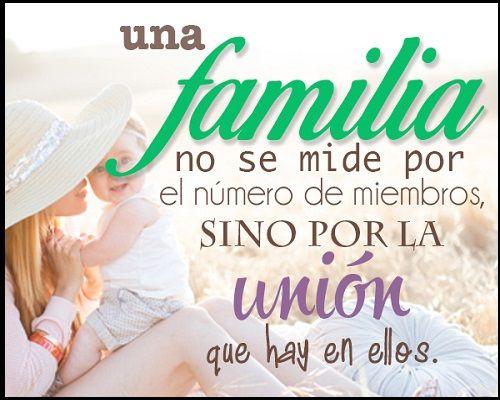 Pensamientos Para La Familia Desunida Frase Familia Unida