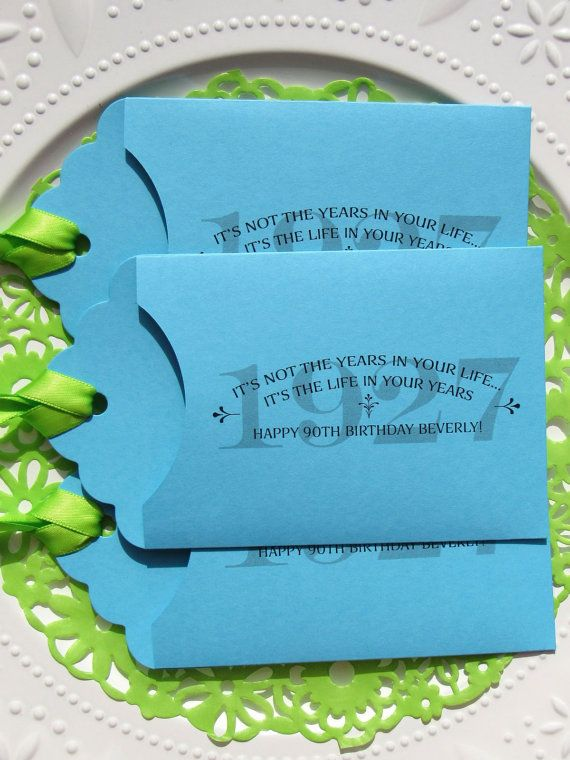 Adult Birthday Favor Ideas