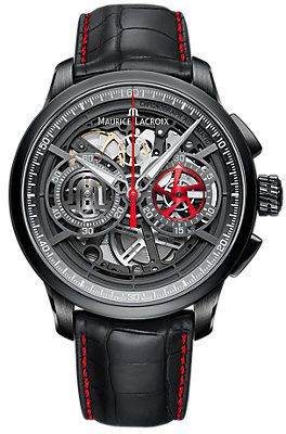 Maurice Lacroix Chronograph Masterpiece Skeleton MP6028-PVB01-001-1
