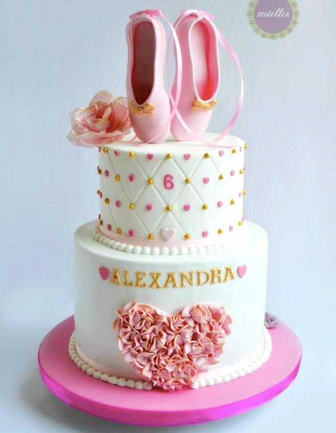 Ballerina Cakes For Your Tiny Dancer Mums Grapevine Deco - Ballet birthday cake