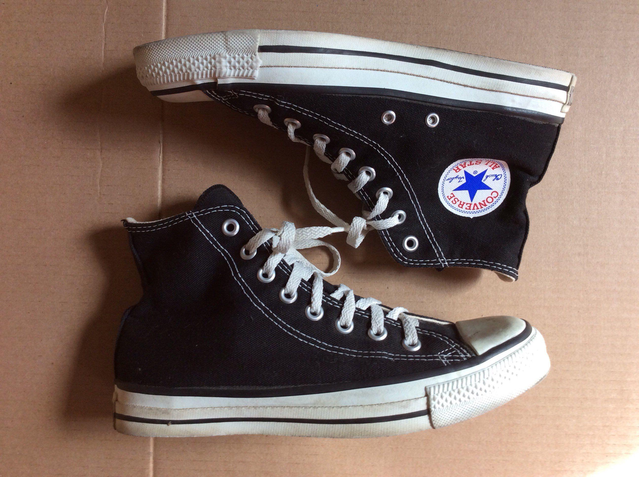 1990s black Converse Allstars