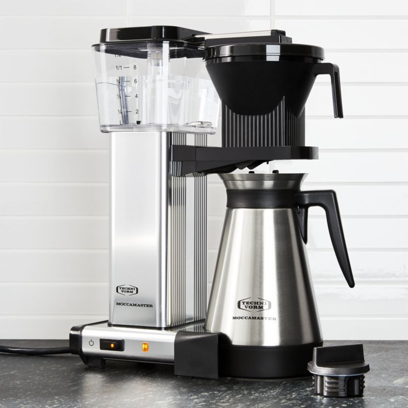 Moccamaster 10 Cup Coffee Maker + Reviews Crate and