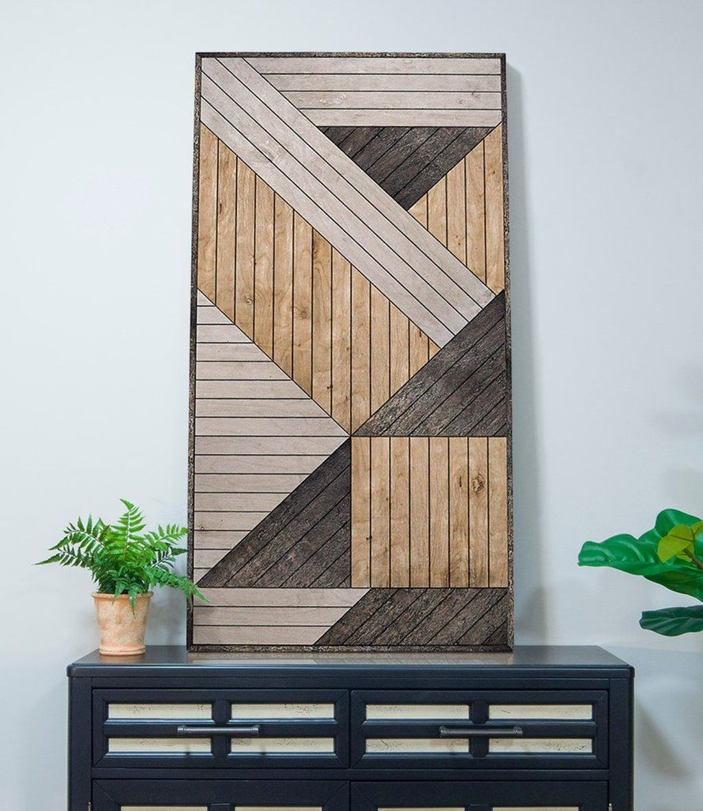 39 Beautiful Wood Wall Art Design Ideas For Your Home Decor In