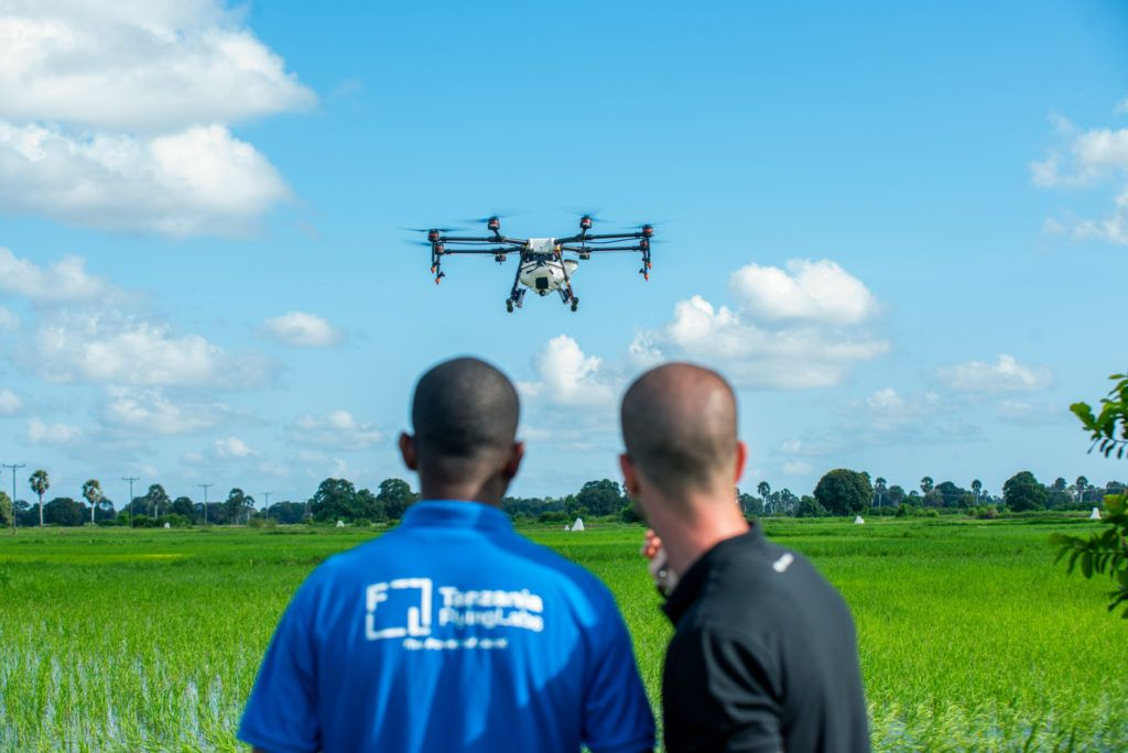News DJI pioneers fight against malaria in Africa with