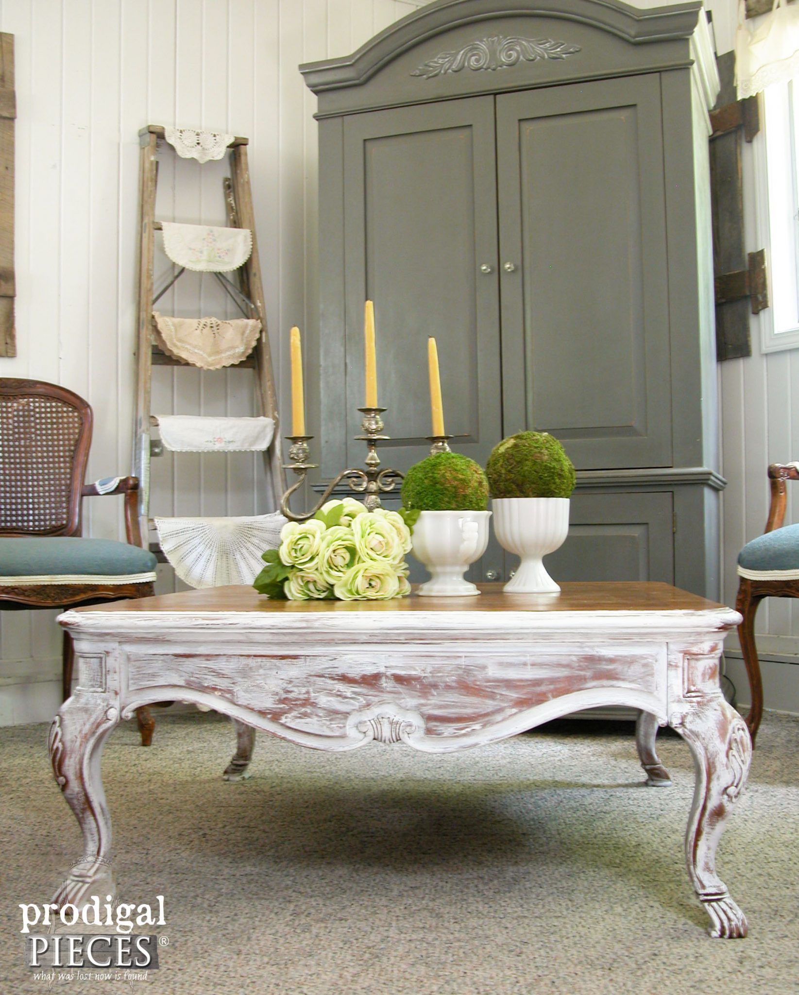 Coffee Table Makeover With French Country Style Prodigal Pieces French Country Coffee Table Country Coffee Table Coffee Table Makeover [ 2048 x 1645 Pixel ]