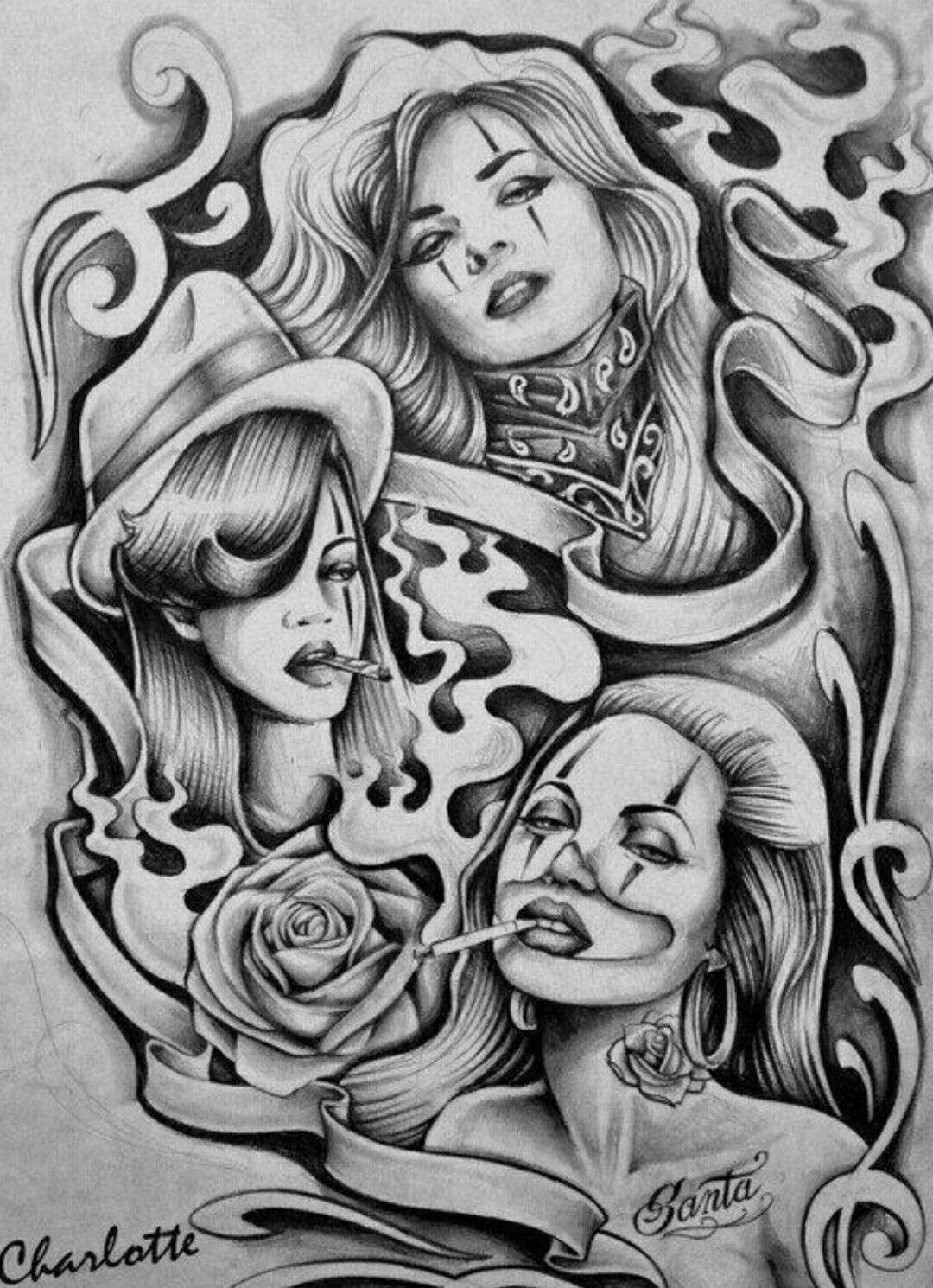 Pin by Big Burg on Chicano Arte   Chicano drawings, Cholo ...