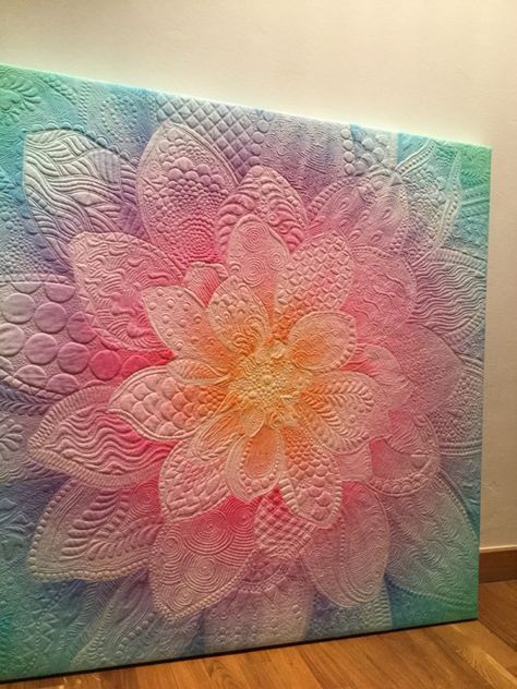53+ Ideas For Flower Quilting Designs Colour #modernquiltingdesigns