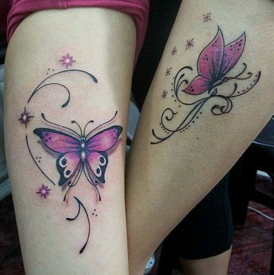 Mariposas Estrellas Destellos y Firuletes Tatoos Tatoo and Tattoo