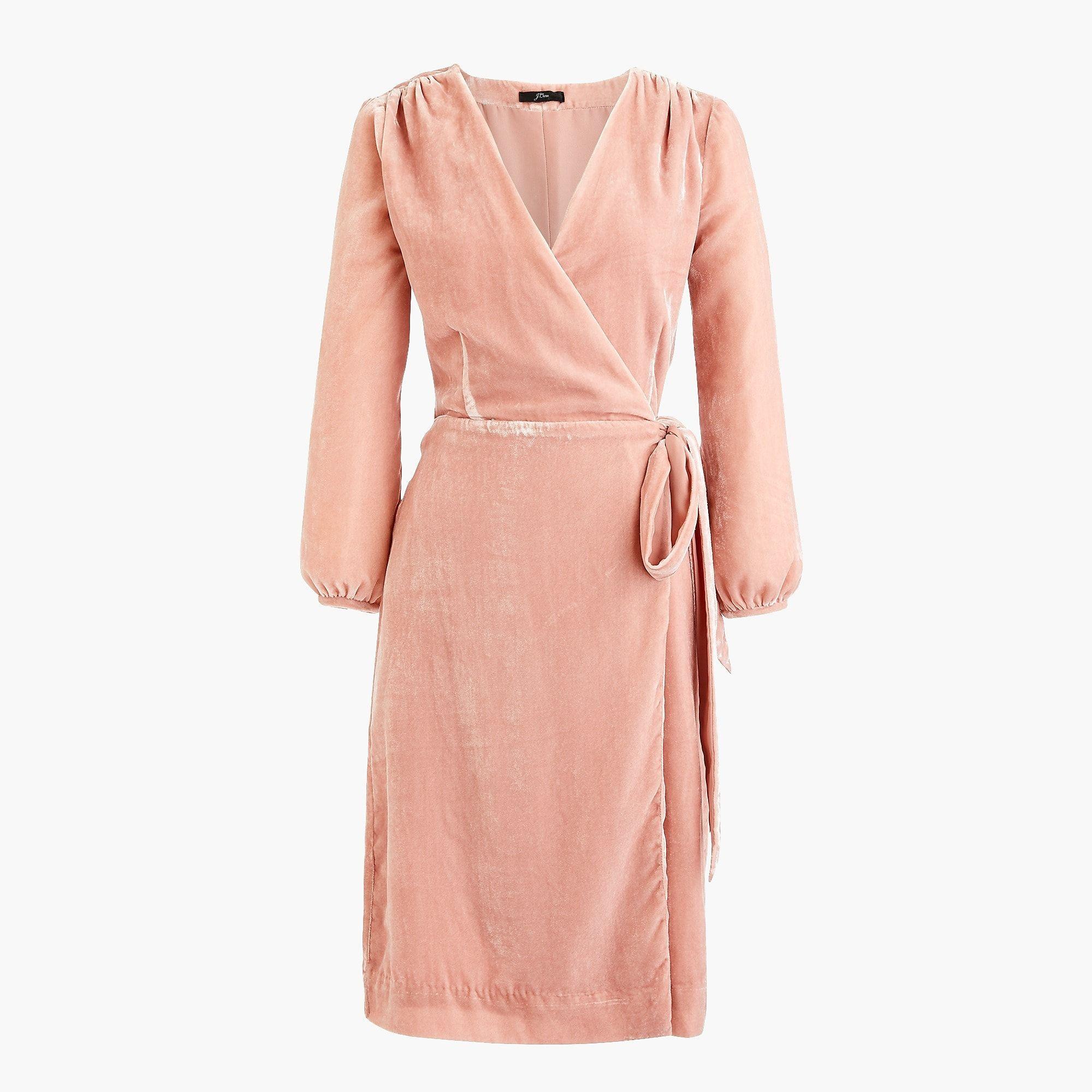 J Crew Wrap Dress In Drapey Velvet Womens Wrap Dress Wrap Dress Velvet Wrap Dress [ 2000 x 2000 Pixel ]
