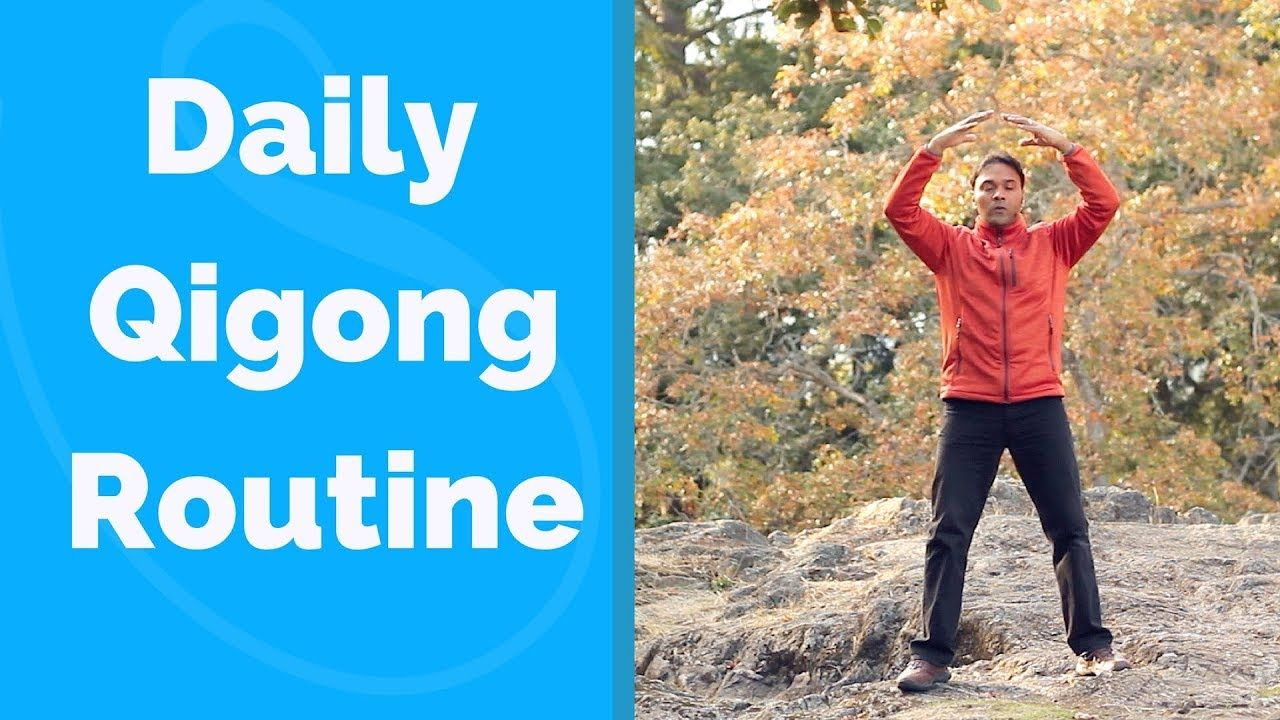 Daily Qigong Routine - Easy and Effective! - YouTube