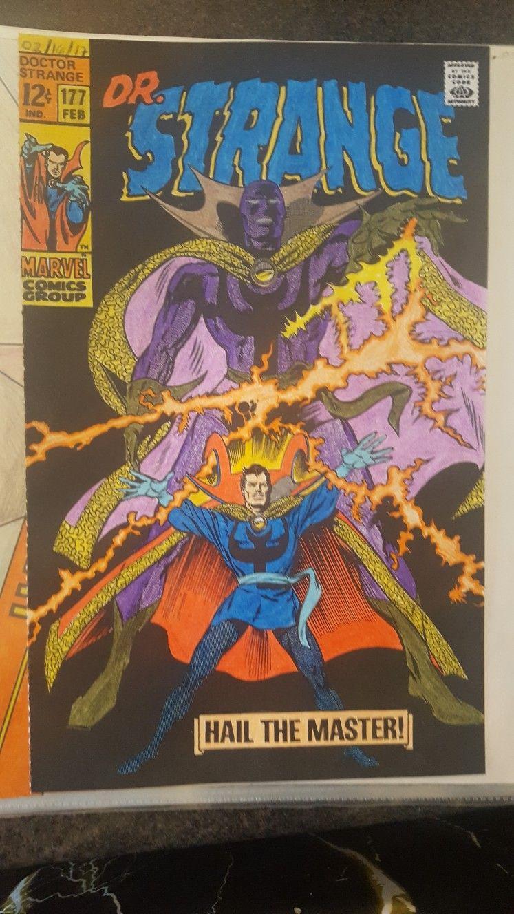 Dr Strange Marvel Color Your Own Coloring Page Marvel