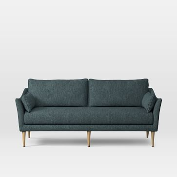 antwerp 76 sofa heathered crosshatch feather grey almond rh pinterest com