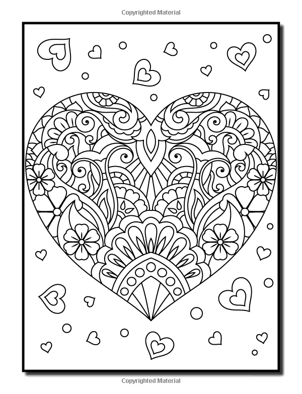 Amazon Com Coloring Books For Adults Relaxation 100 Magical Swirls Coloring Book With Fun Eas Relaxing Coloring Book Valentine Coloring Pages Coloring Books