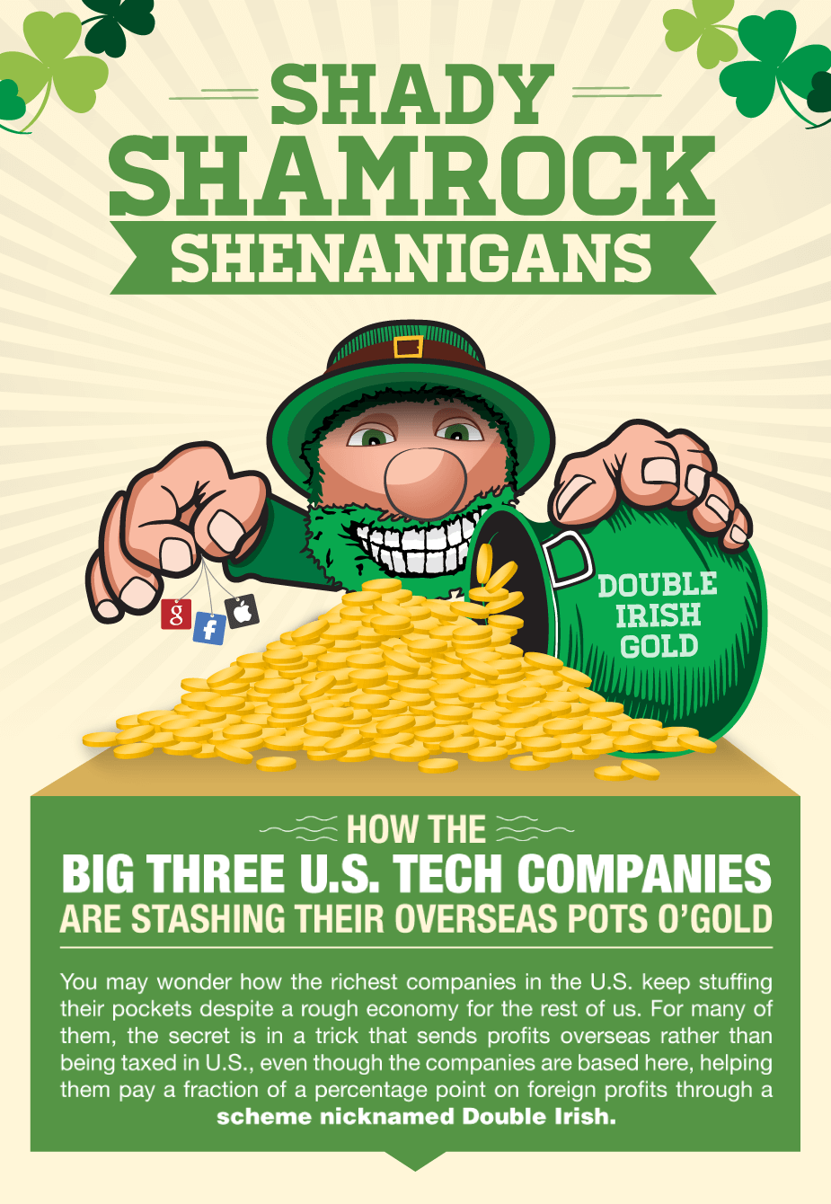 How Large Companies Exploit Irish Tax Loopholes Paying