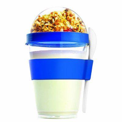 Asobu YO2GO Yogurt Container, Blue