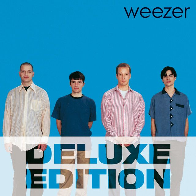 Band Of Colours Blue Weezer Deluxe Edition By Weezer On
