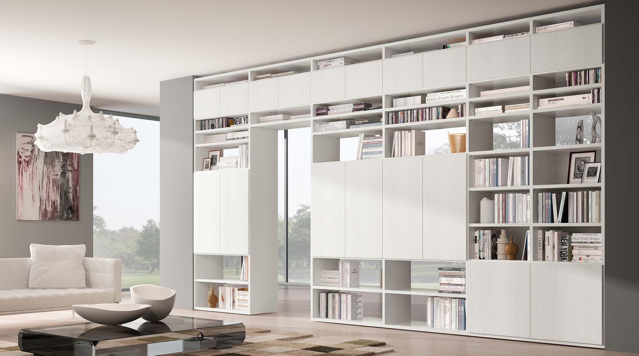 Librerie Componibili Bifacciali.Libreria Bifacciale Componibile Systema B Arquitectura