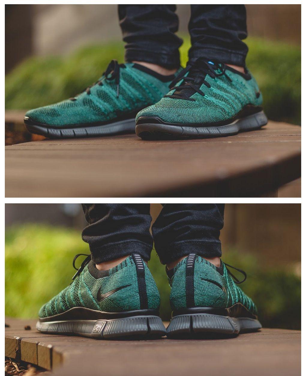 4e3820dbe2ab Nike Free Flyknit  Rough Green