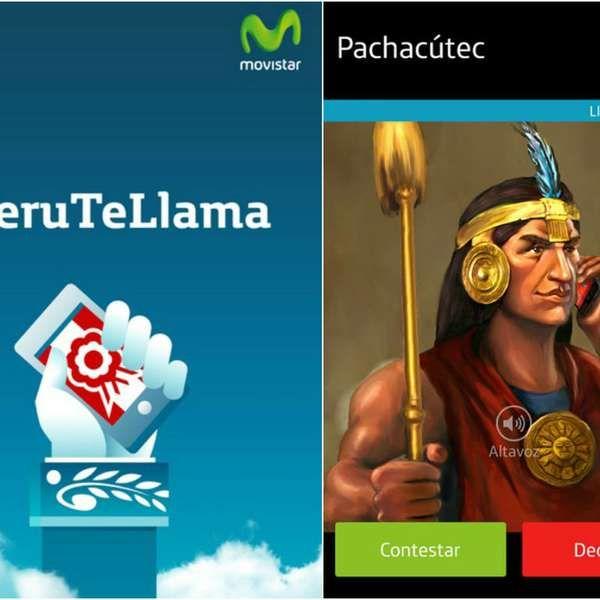 """""""Perú te llama"""" te comunica con los personajes más ilustres"""
