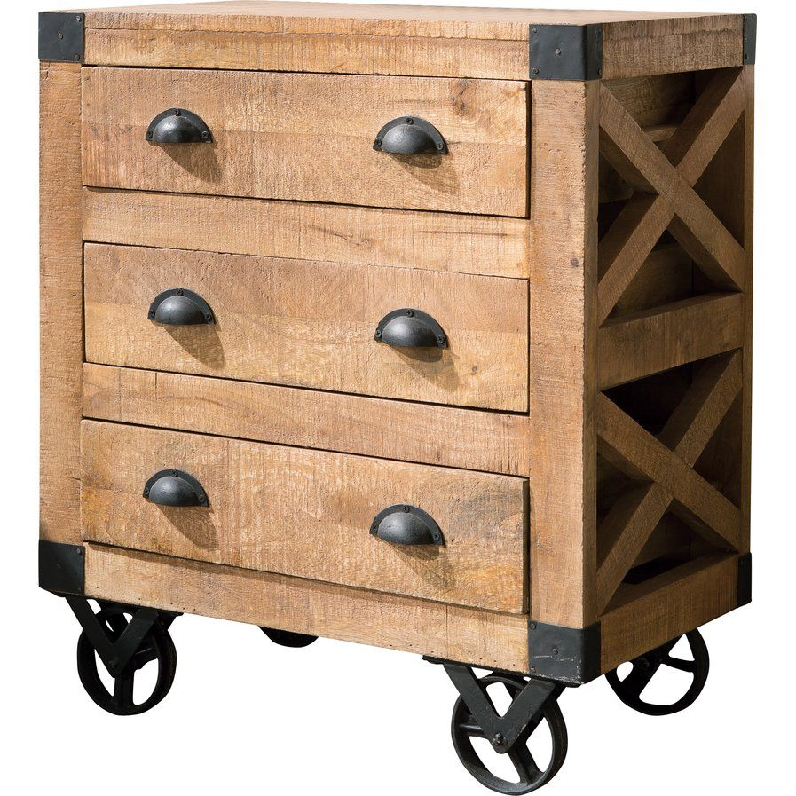 3 Drawer Accent Cabinet In 2020 With Images Coaster