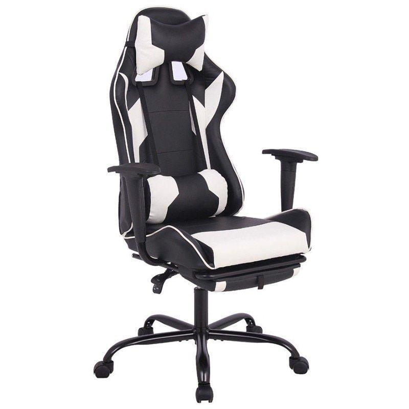 Neues Freies Verschiffen Eu Chef Spiel Computer Spiel Stuhl Der Art Leder High Back Burostuhl Ergonomisc Gaming Chair High Back Office Chair Office Desk Chair
