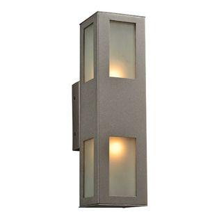 plc lighting plc 2 light outdoor wall fixture tessa collection