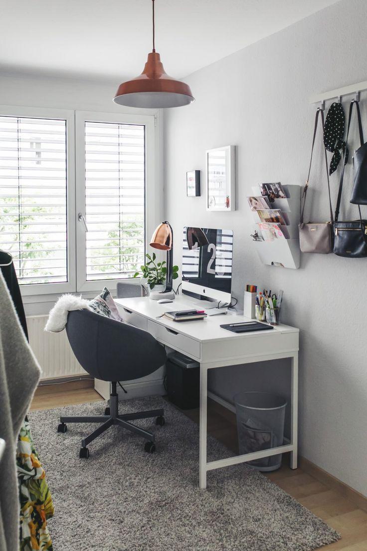 Arbeitszimmer ikea  Arbeitszimmer einrichten, Ikea Arbeitszimmer, Bueromoebel ...