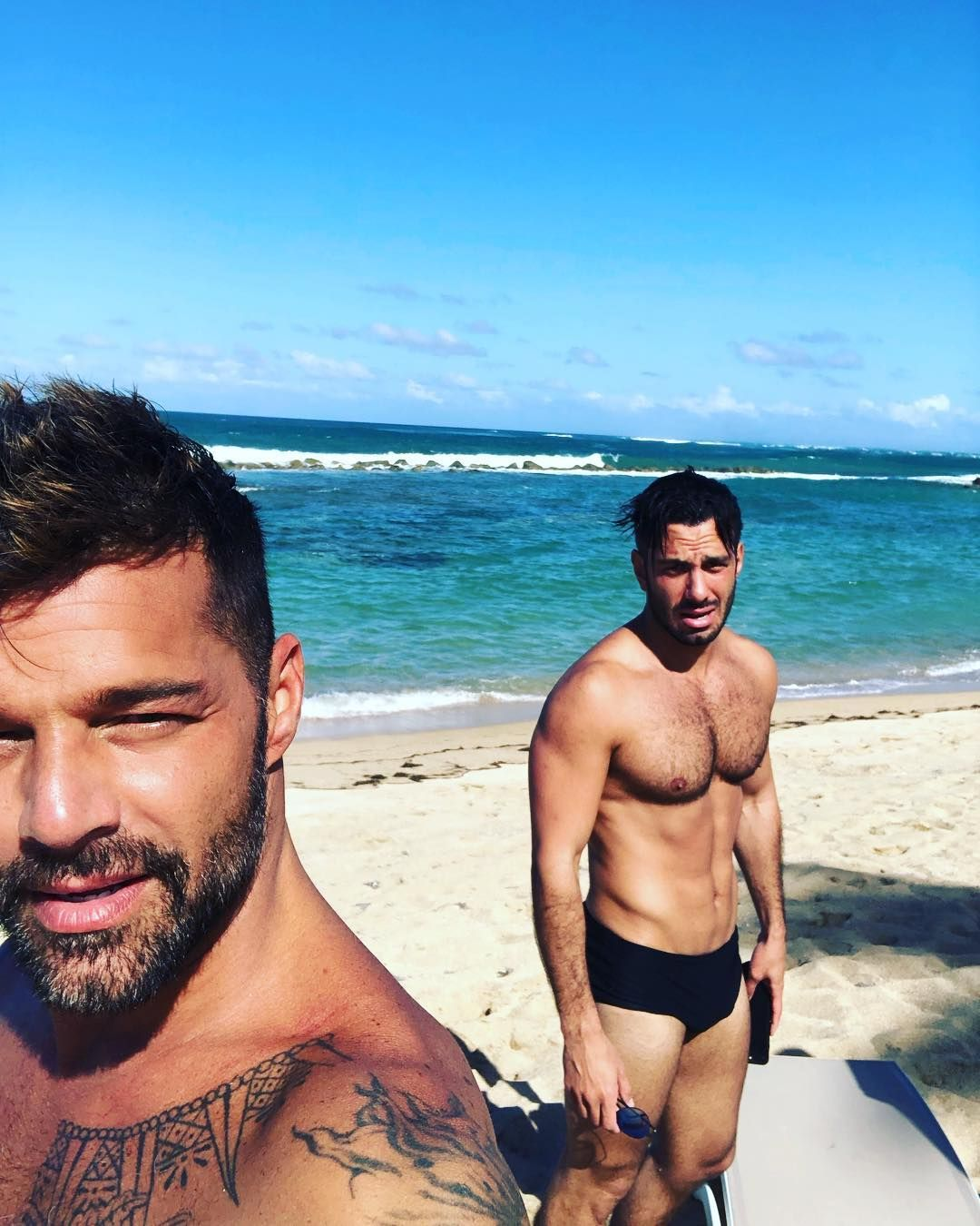 Ste Mar Sana With Images Ricky Martin Hairy Muscle Men