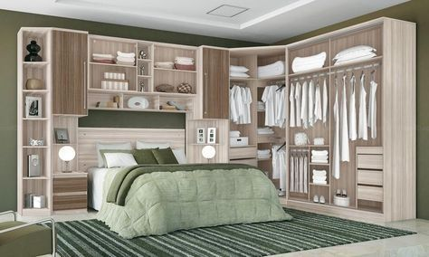 Open wardrobe, traditional wardrobe, furniture Genç odası