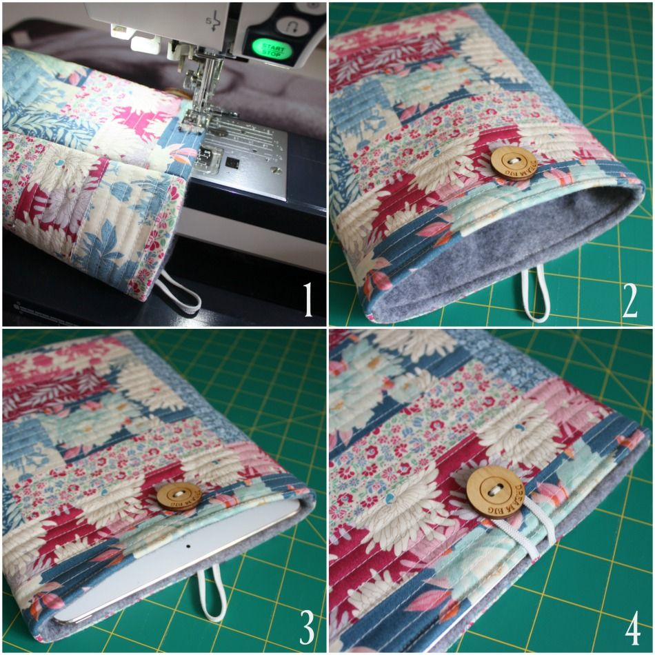 {Tutorial} Quilted Ipad Cover in 2020 Ipad cover