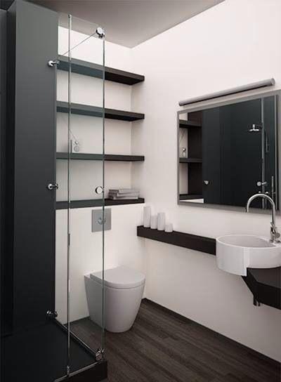 Pin di sara basurto su idee bathroom bathroom wall decor e bathroom toilets - Bagni bellissimi moderni ...