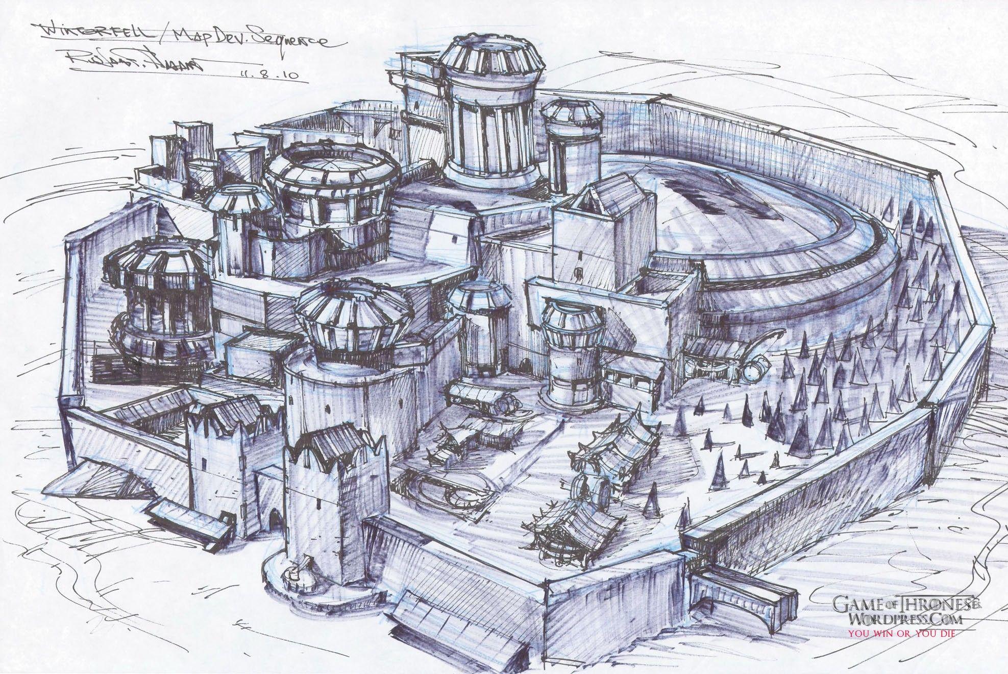 Fortaleza Medieval Juego De Tronos Arte Juego De Tronos Castillos