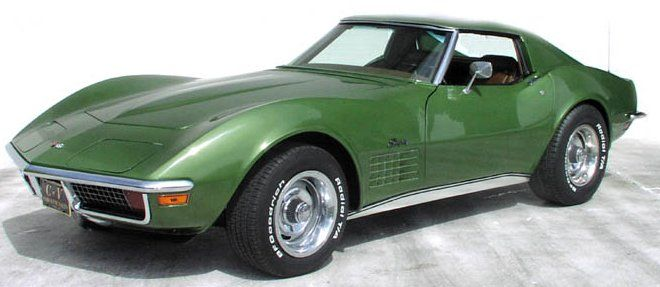 1972 Corvette specifications and search results of 1972's for sale
