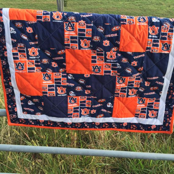 Auburn Baby Crib Quilt by NeNesQuilts on Etsy
