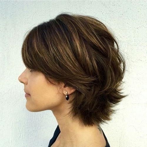 Haircuts You Should Try In 2018 Low Maintenance Short Haircuts For Thick Hair 2018 1 Photo Thick Hair Styles Short Hair Model Haircut For Thick Hair