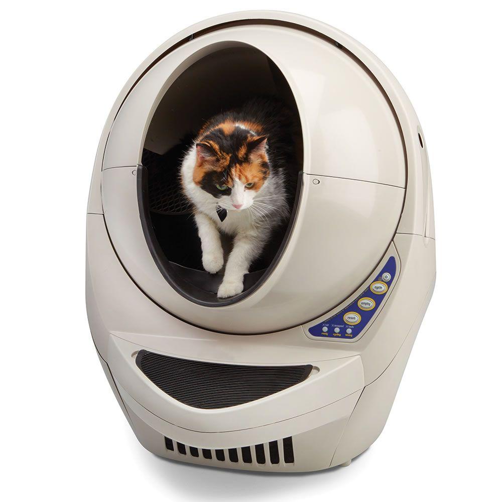 The Best Automatic Cat Litter Box Hammacher Schlemmer Automatic Cat Litter Litter Robot Litter Box