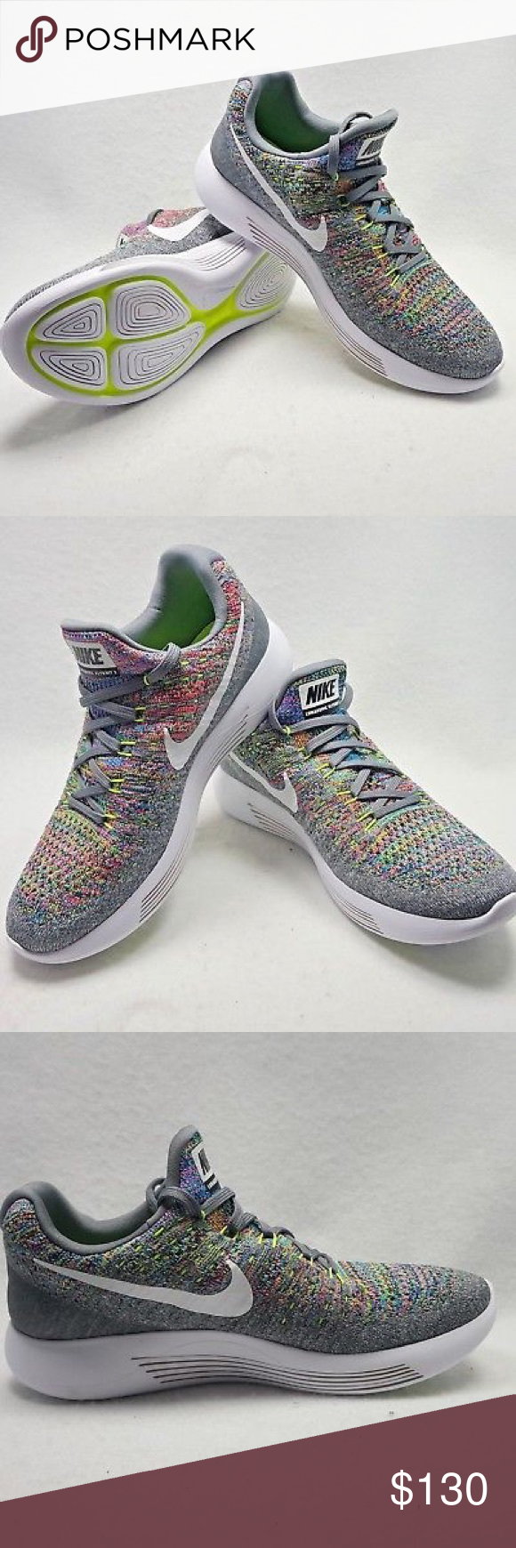 Nike LunarEpic Low Flyknit 2 Women s Multi-color  New without tags. Ships  without a59bd0183e
