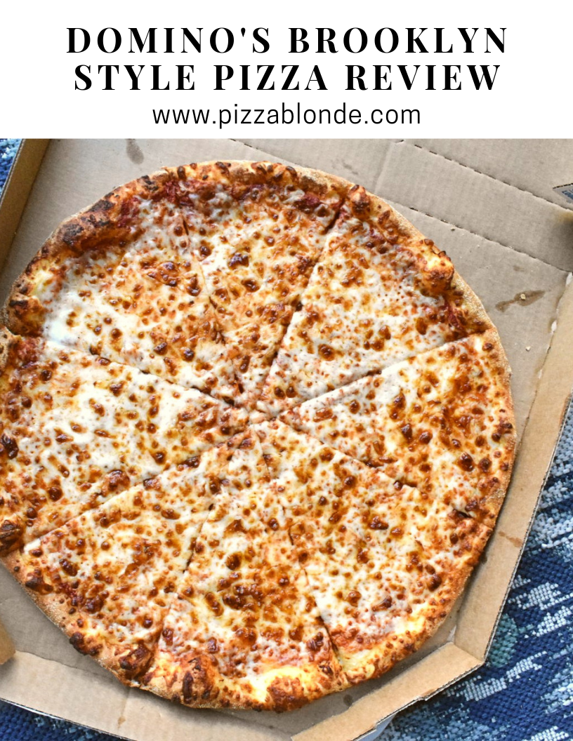 Domino S Brooklyn Style Pizza Review Pizza Blonde Pizza Review Brooklyn Pizza Pizza