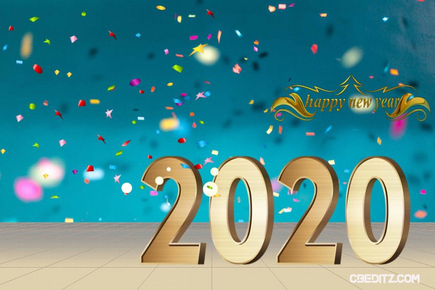 This Is Happy New Year 2020 Editing Background Picsart Full