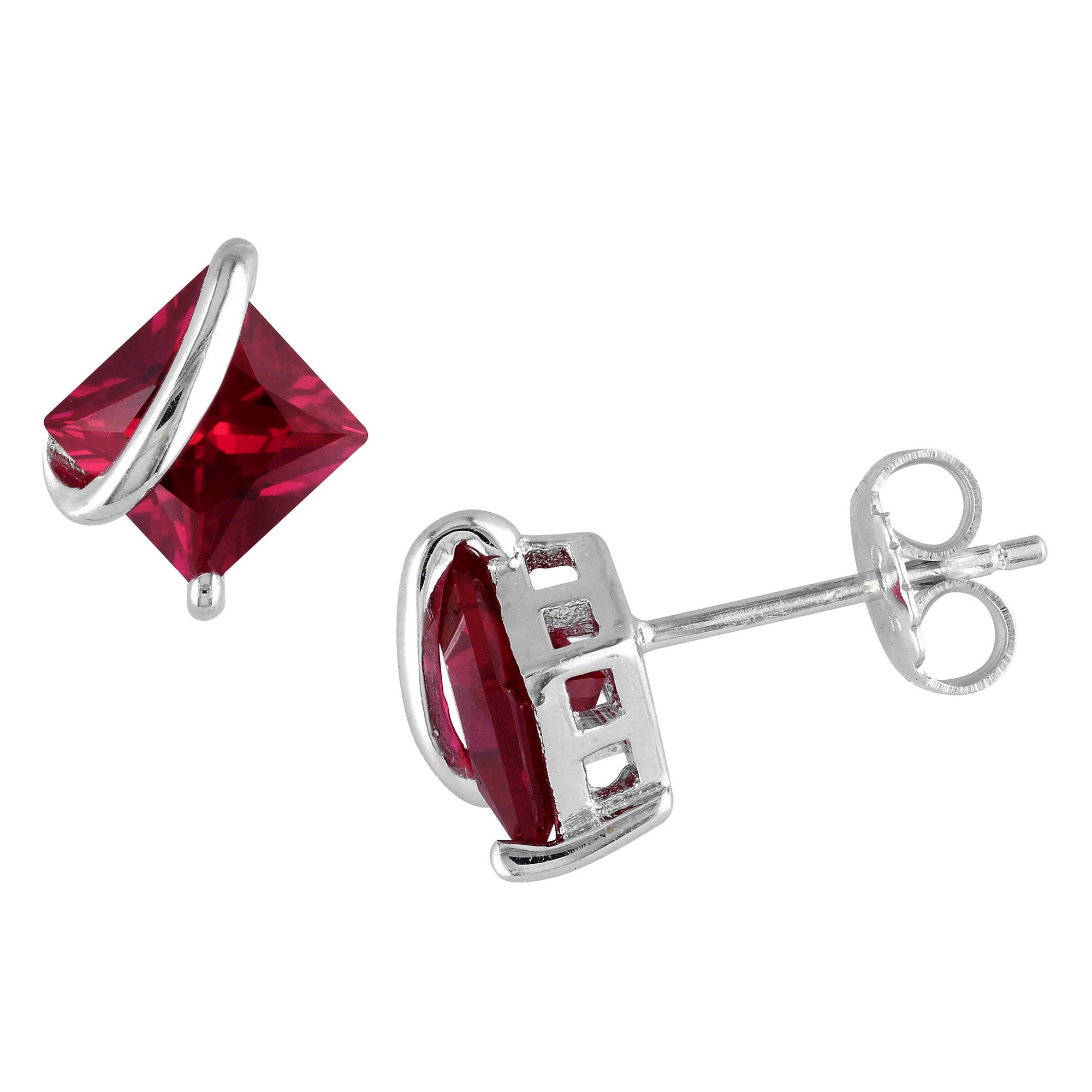 diamonds with elegant include earrings ruby brilliant cut pin red total diamond a stud and these weight