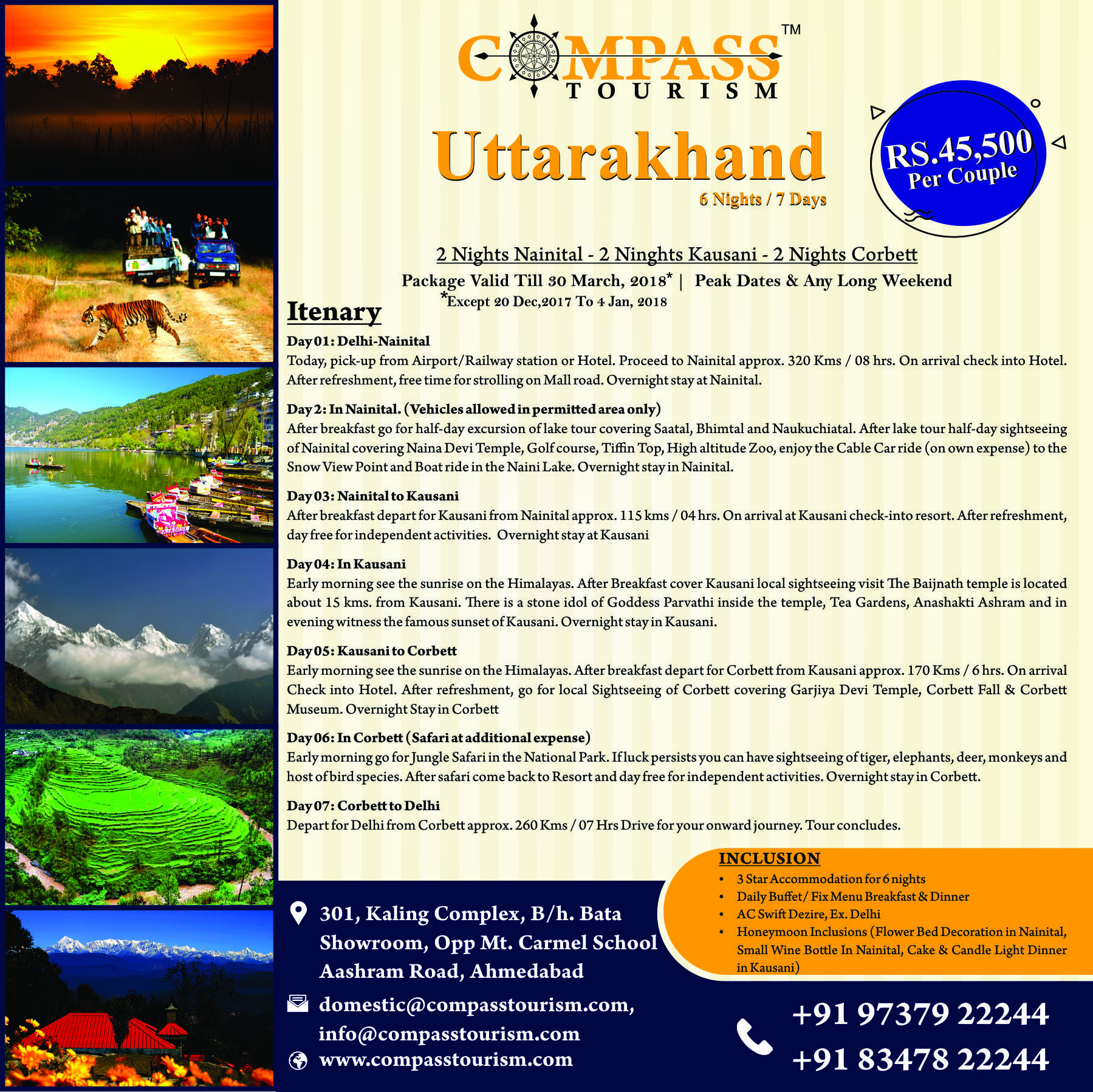Uttarakhand Tour Package For Booking 97379 22244 Tour Packages