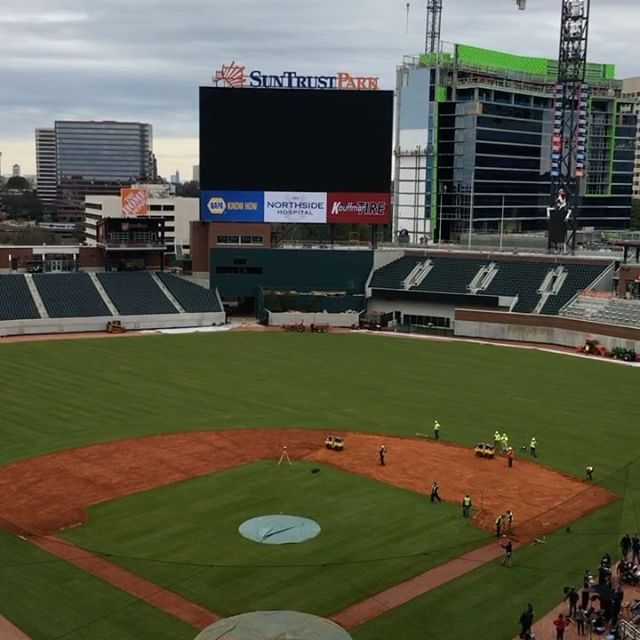 Hello From Suntrustpark Atlanta Braves Baseball