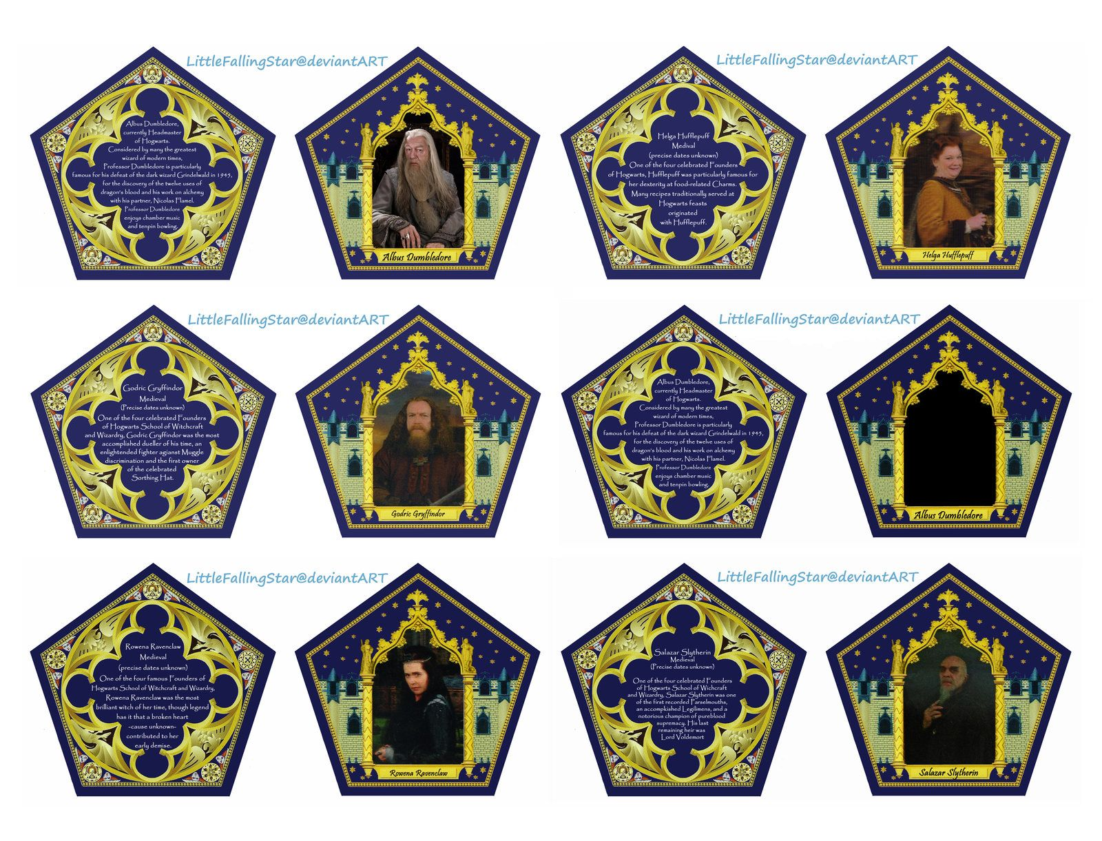 Trust image throughout chocolate frog printable