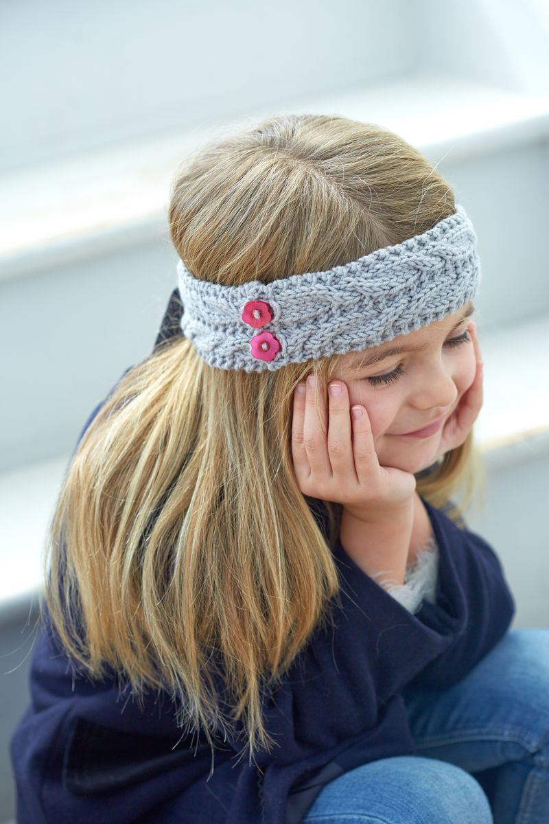 Practice Knitting Cables With This Cabled Headband Pattern ...