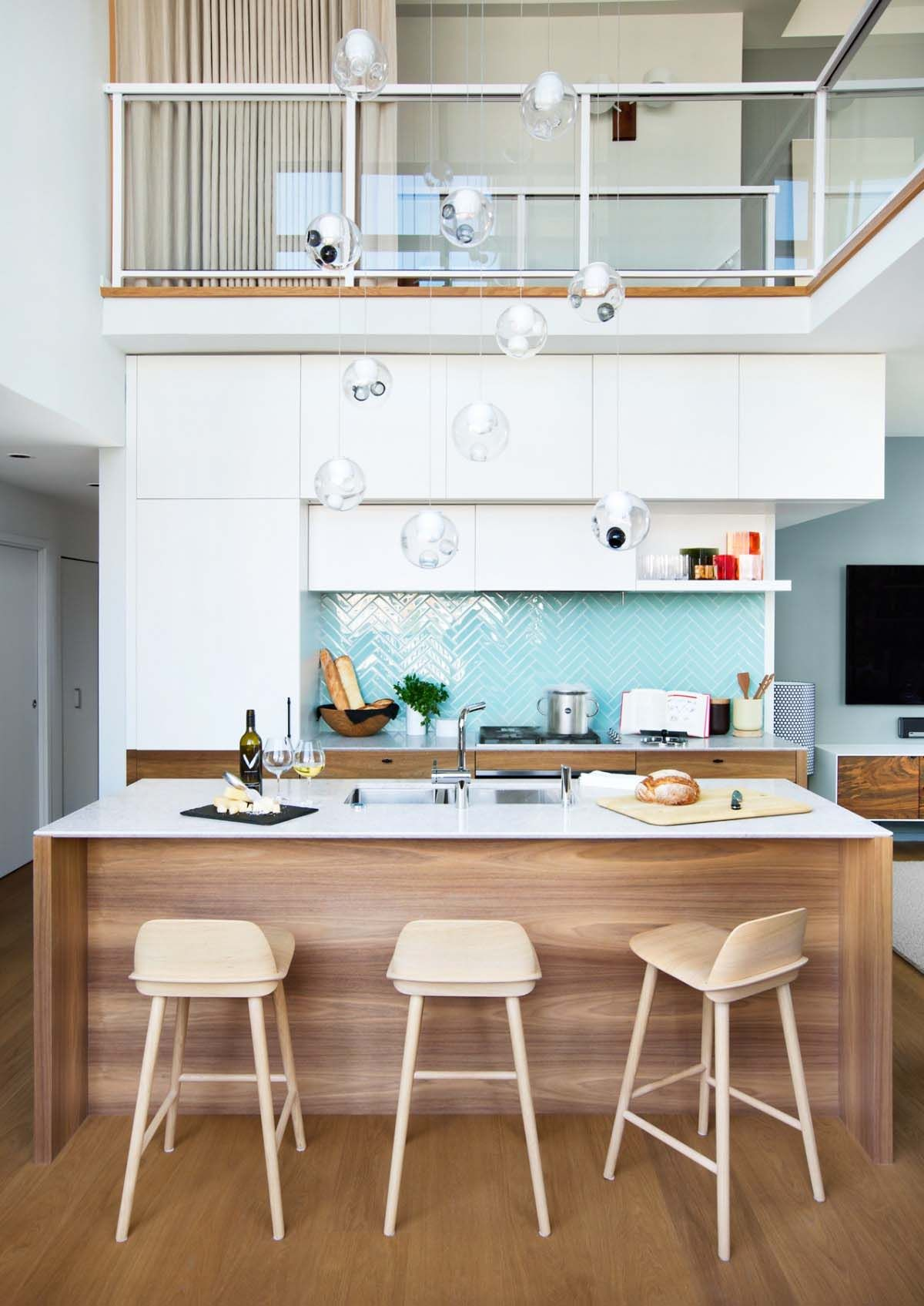 Sleek loft style apartment in Vancouver features a New York vibe ...