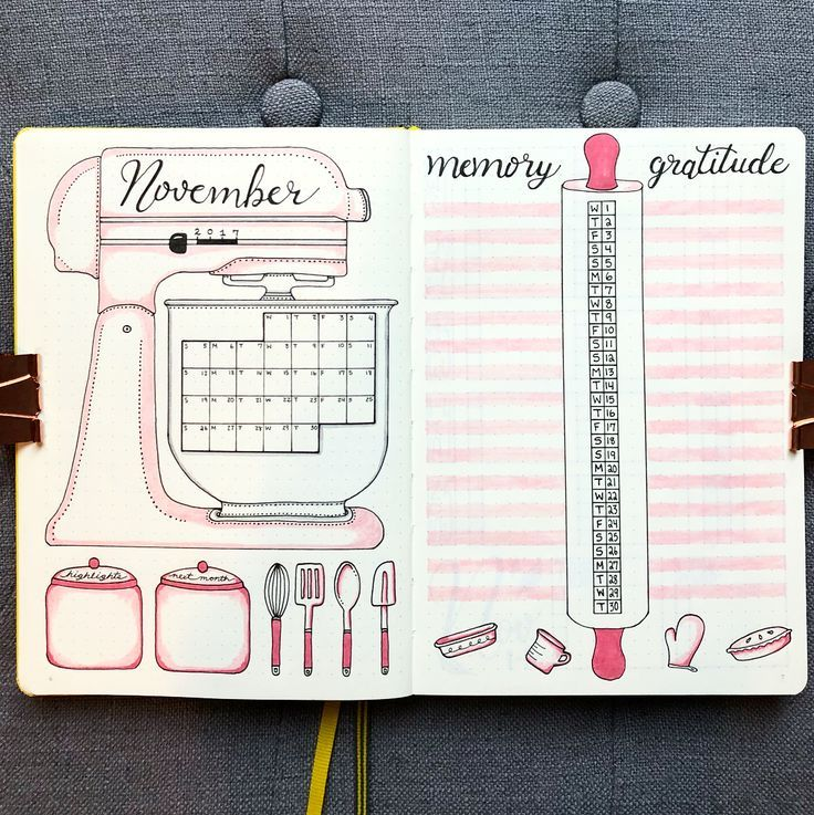 11 Enchanting Fall Bullet Journal Themes - The Petite Planner #hellofall